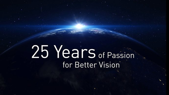 25 years of Passion for Better Vision | © SCHWIND eye-tech-solutions GmbH