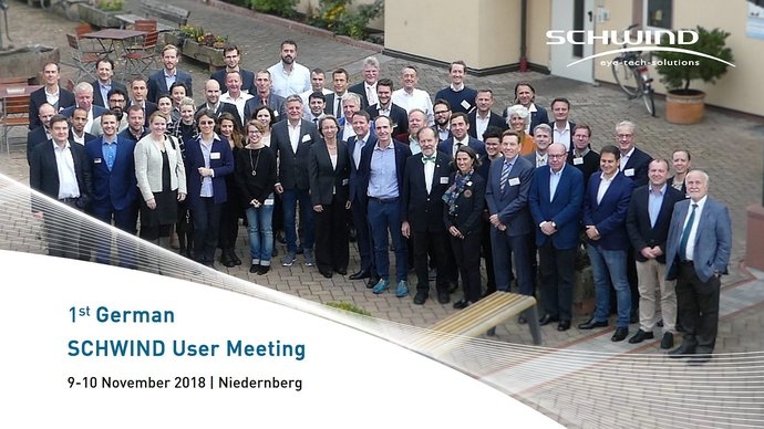 SCHWIND User Meeting Niedernberg