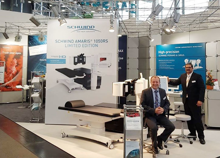 Exhibition stand of Schwind at the DOC 2018