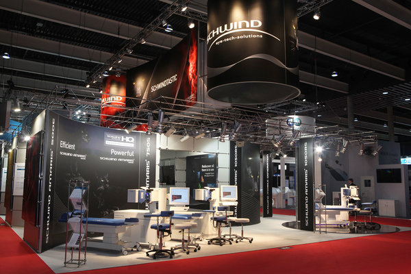 Exhibition stand of Schwind at the ESCRS 2015