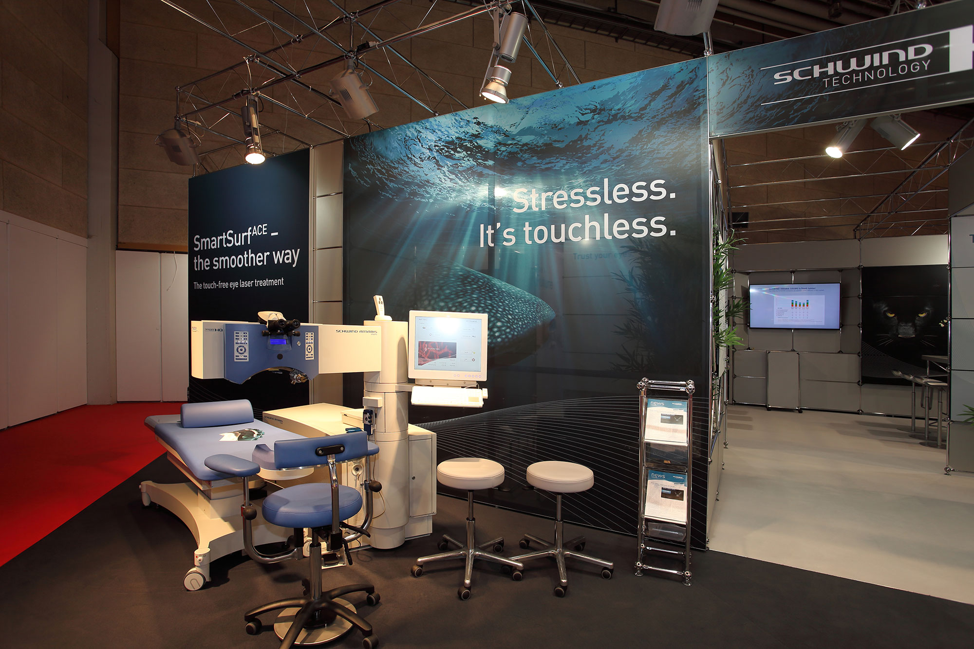 Exhibition stand of Schwind at the ESCRS 2016